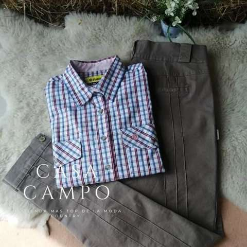Bombacha camisa rural Pampero