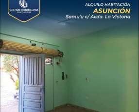 Habitación con baño privado barrio San Pablo Asunción
