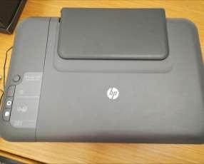 Impresora HP 2050 con escáner y 2 tintas originales