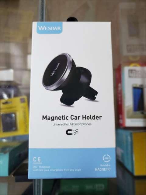 Soporte magnético para vehículo