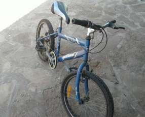 Bicicleta con cambio para niño
