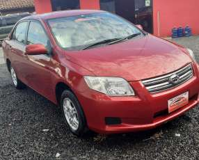 Toyota axio 2008 real color bordo motor vvti 1.5. Cc 4x2
