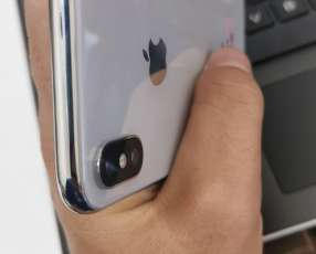 iphone x de 64 gb(sin detalles)