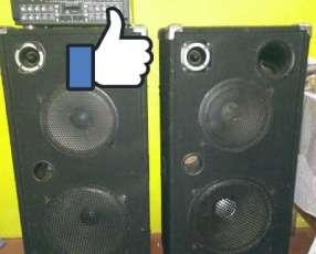 Cajas acústicas Trapecios doble