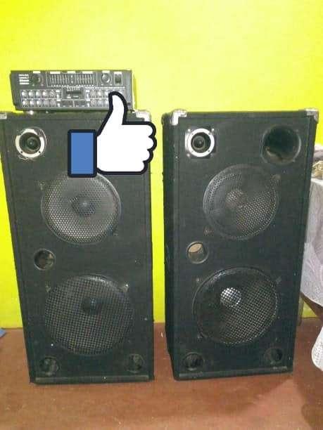 Cajas acústicas Trapecios doble - 0