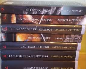 Libros The Witcher COLECCION COMPLETA