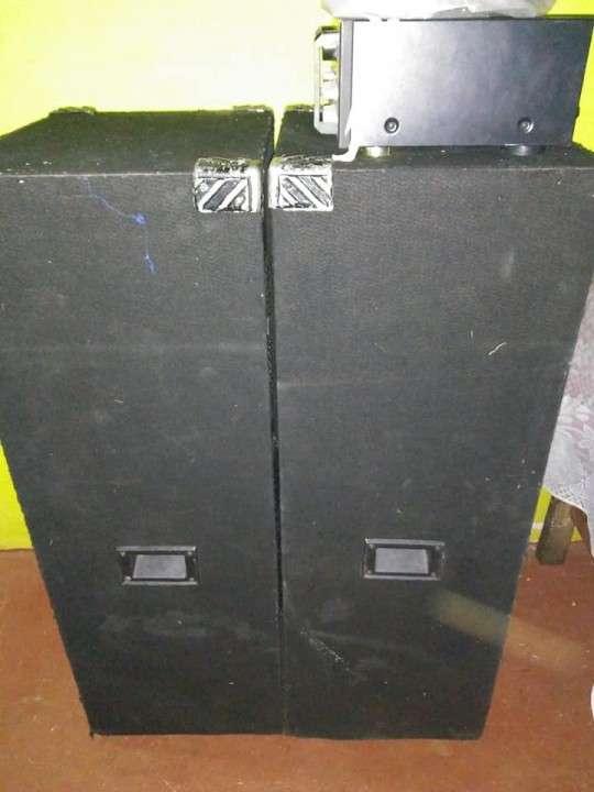 Cajas acústicas Trapecios doble - 2