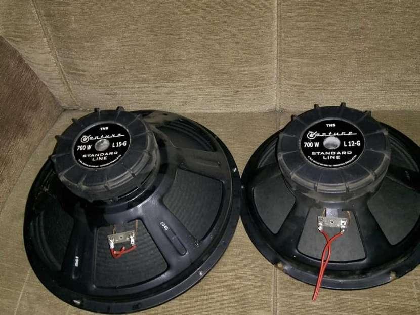 Cajas acústicas Trapecios doble - 3