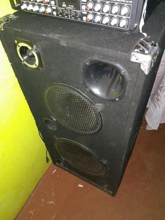 Cajas acústicas Trapecios doble - 1