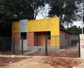 Casa a estrenar de 3 habitaciones en San Lorenzo