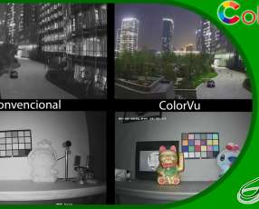 Cámara Hikvision ColorVu