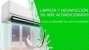 Limpieza y desinfección de aire acondicionado