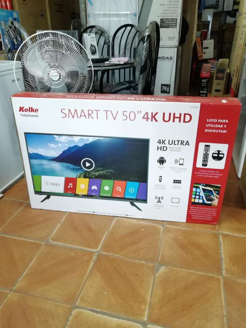 TV Led smart kolke 50 pulgadas ultra hd 4k - 0