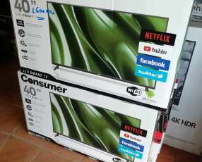 Tv Led smart consumer 40 pulgadas fullhd