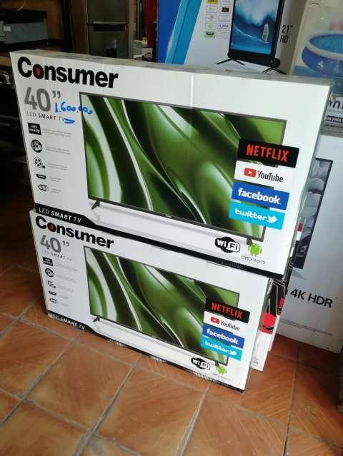 Tv Led smart consumer 40 pulgadas fullhd