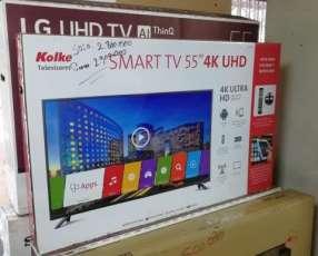 Tv led smart kolke 55 pulgadas ultra hd 4k