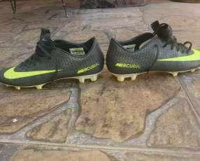 Botín Nike Mercurial Cr7 Semi Usado