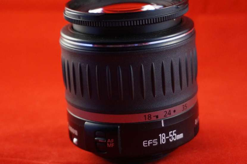 Lente canon ef-s 18-55mm f/3.5-5.6 is ii (usado) - 1