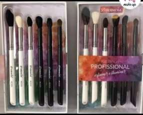 Kit de Brochas para maquillaje