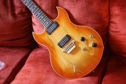 Guitarra vox sdc-33 teaburst p90 (nueva en caja con estuche)