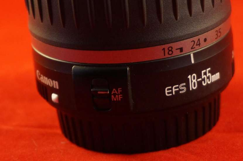 Lente canon ef-s 18-55mm f/3.5-5.6 is ii (usado) - 2