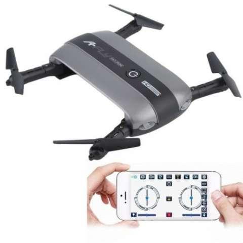 Drone plegable wifi pocket 6 ejes filmadora hd 720p