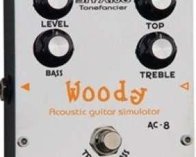 Pedal de efectos para guitarra Acoustic Simulator