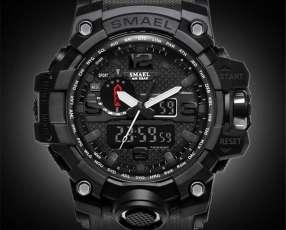 Reloj smael military all black