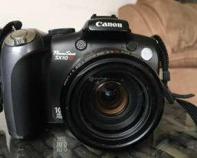 Canon powershot sx10 pantalla móvil, filmadora