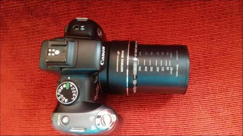 Canon powershot sx10 pantalla móvil, filmadora - 5