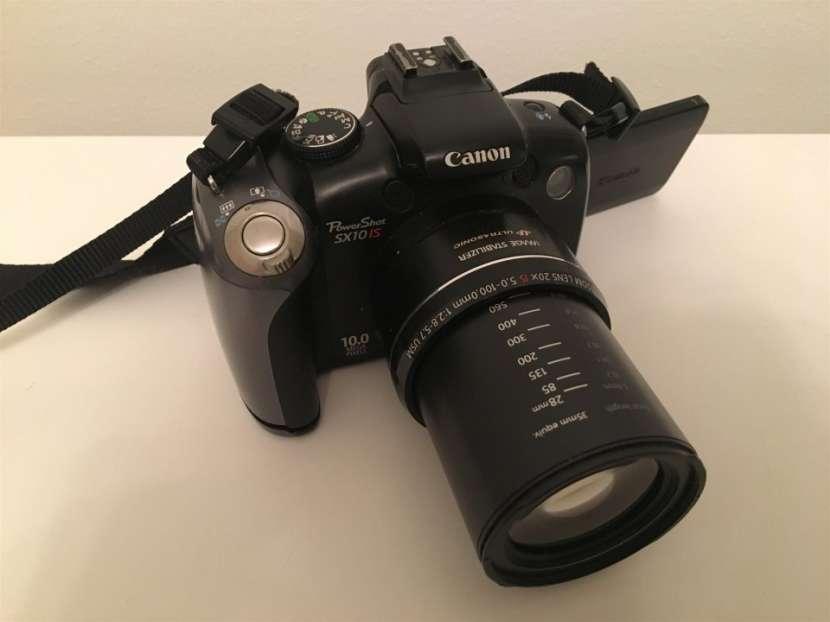 Canon powershot sx10 pantalla móvil, filmadora - 1