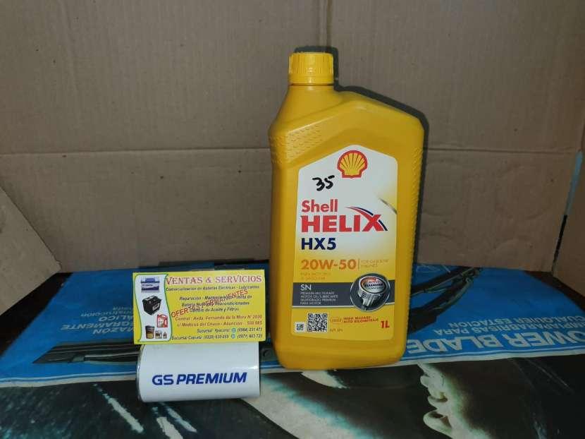 Aceite de Motor Shell 20W-50 - 0
