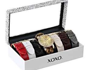 Reloj dama Xoxo XX9065 con mallas intercambiables