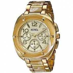 Reloj para dama Xoxo tono dorado-nacar XX5646