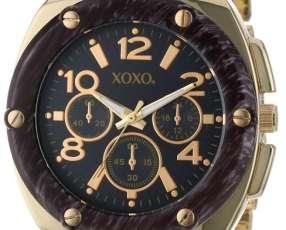 Reloj dama Xoxo tono gold-zebra XX5648