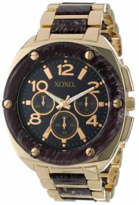 Reloj para dama Xoxo tono gold-zebra XX5648