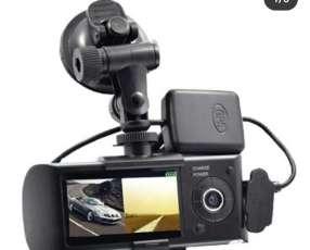 Camara de doble lente automático