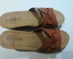 Zueco calce 40 color marrón