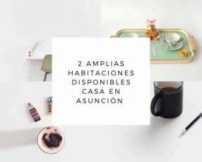 Habitaciones en Asunción
