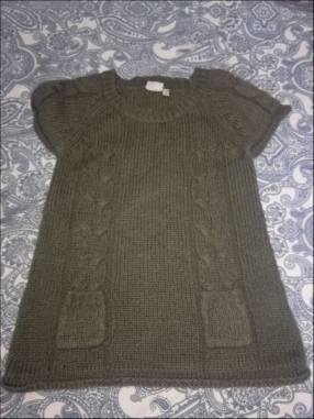 Vestido de hilo de lana