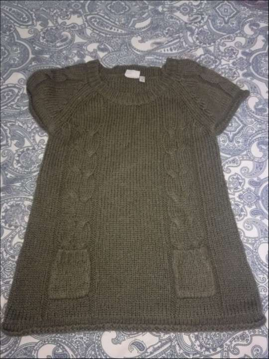 Vestido de hilo de lana - 0