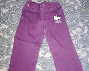 Pantalón infantil para nena