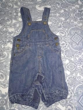 Jardinera para niños de jeans