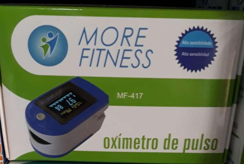 Saturometro oxímetro More Fitness MF-417 para el dedo - 0