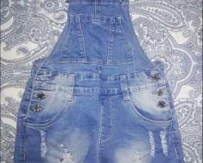 Shorp enteriso de jeans para nena