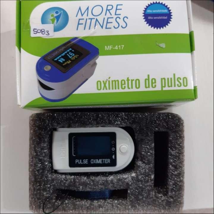 Saturometro oxímetro More Fitness MF-417 para el dedo - 1