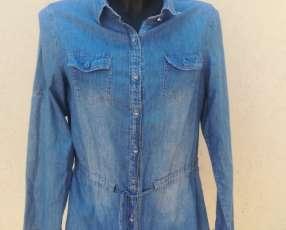 Camisa de jeans para mujer