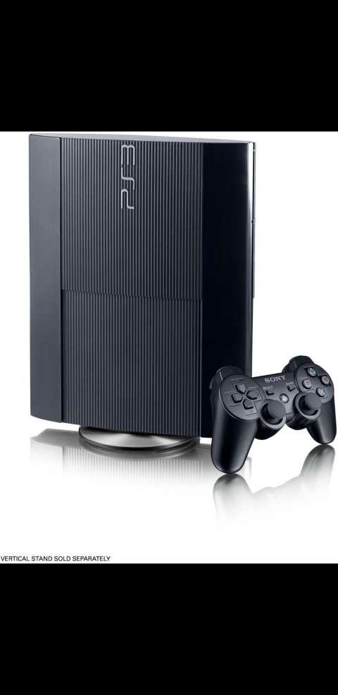Playstation 3 super slim con 2 controles y 47 juegos