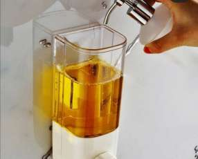 Dispensador de jabón líquido y alcohol en gel