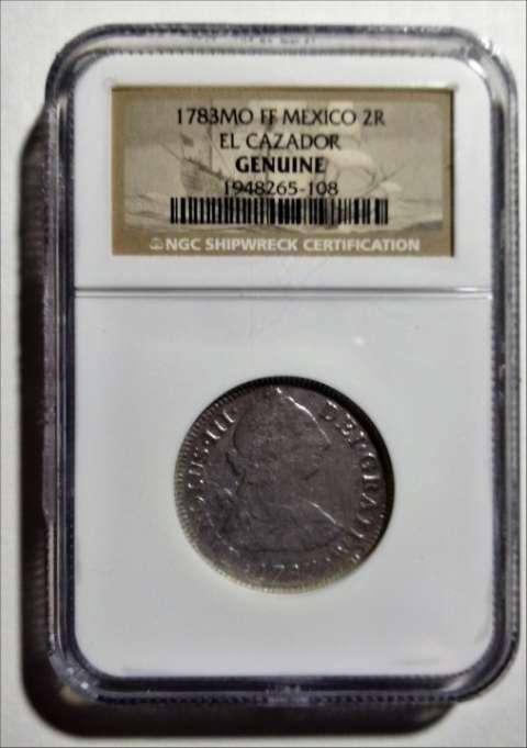 Moneda colonial del imperio español